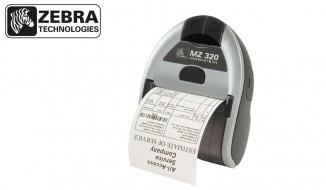 چاپگر قابل حمل صدور برچسب، بارکد، فیش و رسید Zebra Mz320