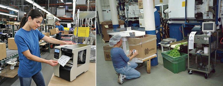 لیبل پرینتر های صنعتی و نیمه صنعتی و کاربردهای مختلف آنها